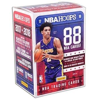 2017/18 Panini Hoops Basketball 11-Pack Blaster Box