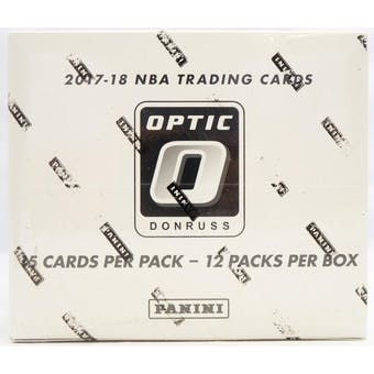 2017/18 Panini Donruss Optic Basketball Multi/Cello Box