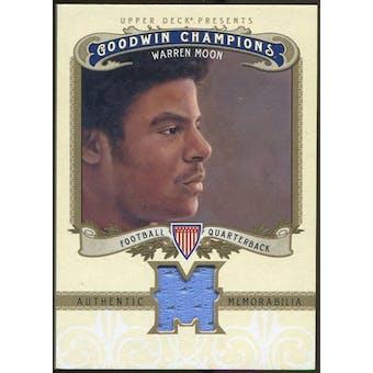 2012 Upper Deck Goodwin Champions Memorabilia #MWM Warren Moon F