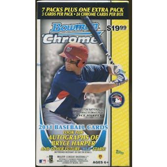 2011 Bowman Chrome Baseball 8-Pack Box