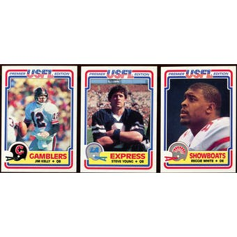 1984 Topps USFL Football Complete Set (NM-MT)