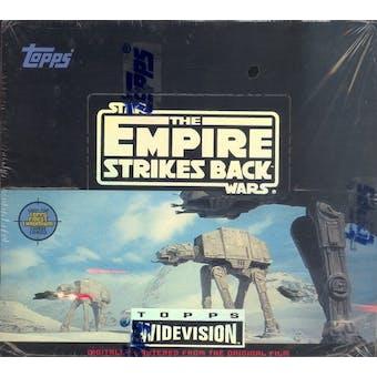 Star Wars Empire Strikes Back Widevision Hobby Box (1995 Topps)