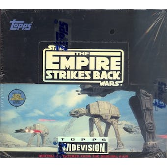 Star Wars Empire Strikes Back Widevision Hobby Box (1995 Topps)