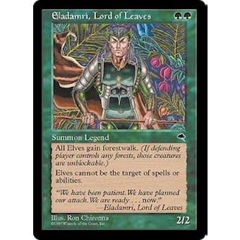Magic the Gathering Tempest Single Eladamri, Lord of Leaves - NEAR MINT (NM)