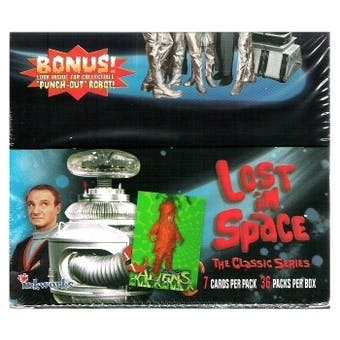 Lost In Space The Classic Series Trading Card Box (1997 InkWorks)