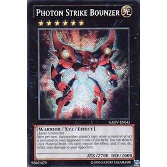 Yu-Gi-Oh Galactic Overlord Single Photon Strike Bounzer Secret Rare