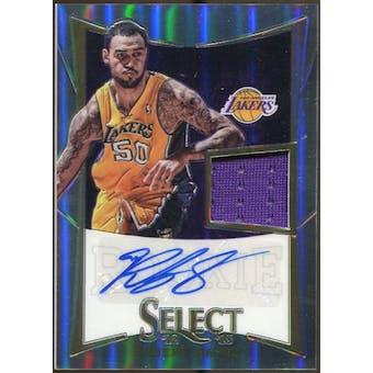 2012/13 Panini Select Prizms #308 Robert Sacre Jersey Autograph 73/199