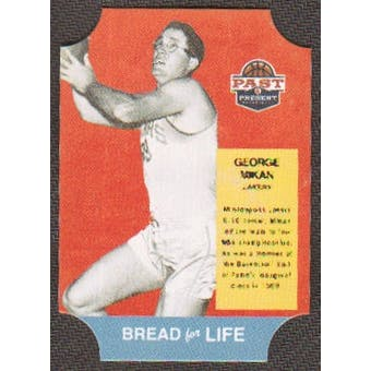 2011/12 Panini Past and Present Bread for Life #25 George Mikan