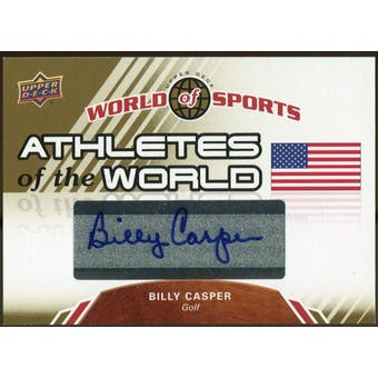 2010 Upper Deck World of Sports Athletes of the World Autographs #AW30 Billy Casper