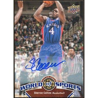 2010 Upper Deck World of Sports Autographs #27 Sherron Collins