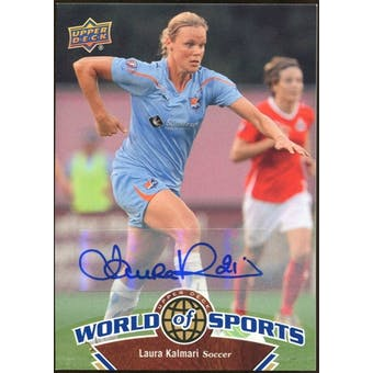 2010 Upper Deck World of Sports Autographs #105 Laura Kalmari
