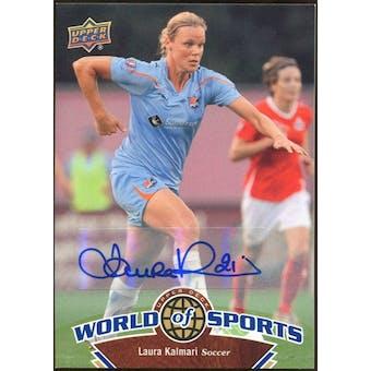 2010 Upper Deck World of Sports Autographs #105 Laura Kalmari