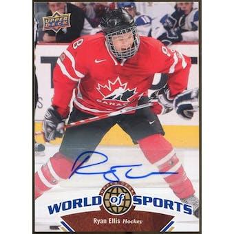 2010 Upper Deck World of Sports Autographs #195 Ryan Ellis