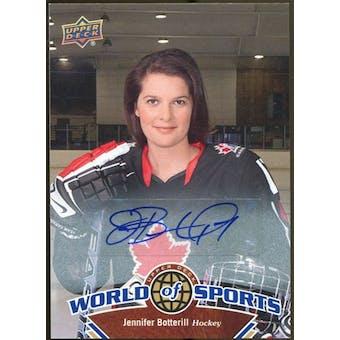 2010 Upper Deck World of Sports Autographs #236 Jennifer Botterill Autograph