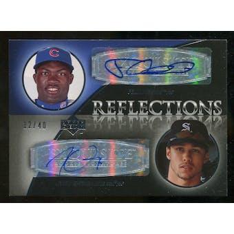 2007 Upper Deck Exquisite Collection Rookie Signatures Reflections Autographs #PG Felix Pie/Carlos Gomez Autog