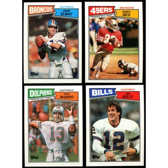 1987 Topps Football Complete Set (NM-MT)