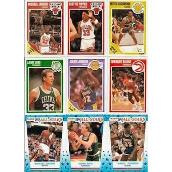 1989/90 Fleer Basketball Complete Set w/Stickers (NM-MT)