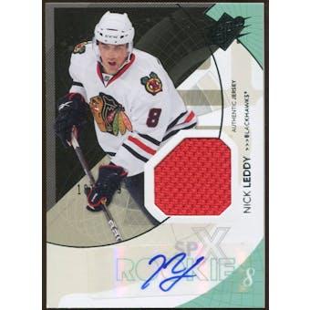 2010/11 Upper Deck SPx #168 Nick Leddy RC Jersey Autograph /799