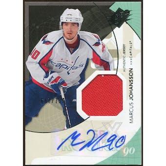 2010/11 Upper Deck SPx #188 Marcus Johansson RC Jersey Autograph /799