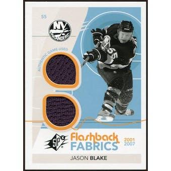 2010/11 Upper Deck SPx #216 Jason Blake FF Jersey