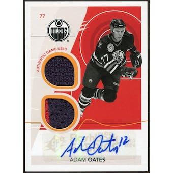 2010/11 Upper Deck SPx #228 Adam Oates FF Jersey Autograph