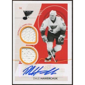 2010/11 Upper Deck SPx #234 Dale Hawerchuk FF Jersey Autograph