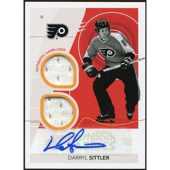 2010/11 Upper Deck SPx #236 Darryl Sittler FF Jersey Autograph