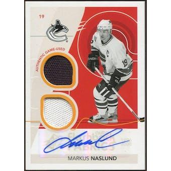 2010/11 Upper Deck SPx #250 Markus Naslund FF Jersey Autograph