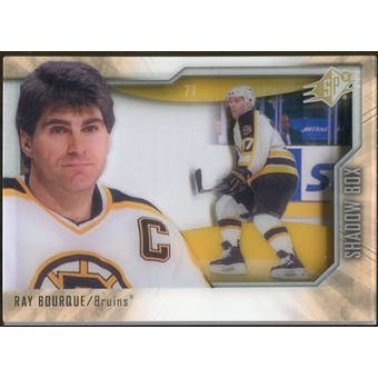 2010/11 Upper Deck SPx Shadowbox #SB17 Ray Bourque