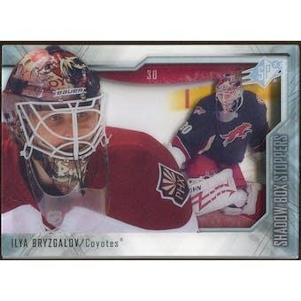 2010/11 Upper Deck SPx Shadowbox Stoppers #ST4 Ilya Bryzgalov