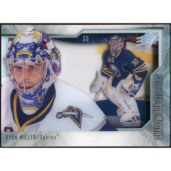2010/11 Upper Deck SPx Shadowbox Stoppers #ST6 Ryan Miller