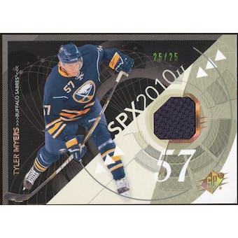 2010/11 Upper Deck SPx Spectrum #11 Tyler Myers Jersey 25/25