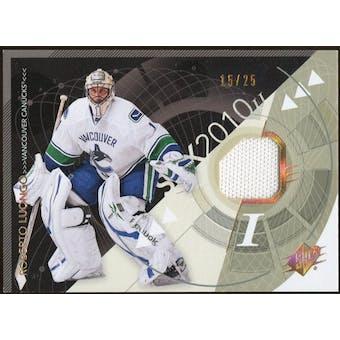2010/11 Upper Deck SPx Spectrum #96 Roberto Luongo Jersey 15/25