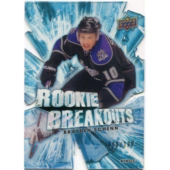 2010/11 Upper Deck Rookie Breakouts #RB16 Brayden Schenn /100