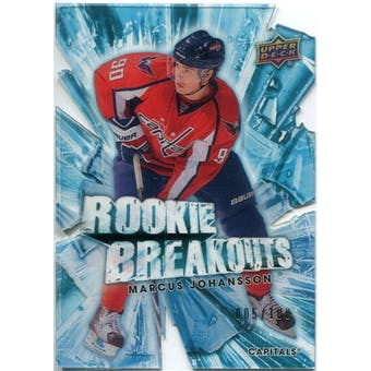 2010/11 Upper Deck Rookie Breakouts #RB30 Marcus Johansson /100