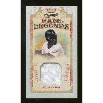 2009/10 Upper Deck Champ's Hall of Legends Memorabilia #HLJA Bo Jackson