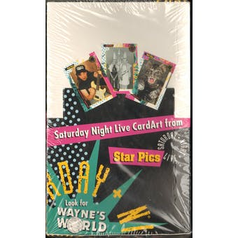 Saturday Night Live Trading Card Box (1992 Star Pics)