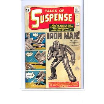 Tales of Suspense #39 FR * Restoration