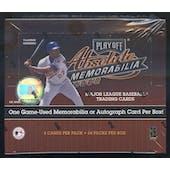 2002 Playoff Absolute Memorabilia Baseball 24 Pack Box (Reed Buy)