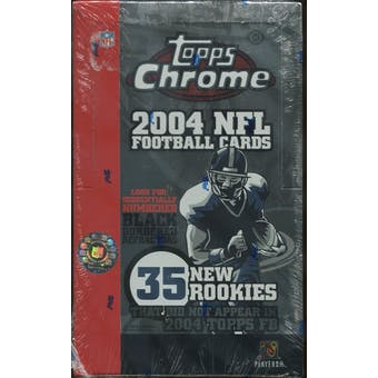 2004 Topps Chrome Football Hobby Box (Reed Buy)