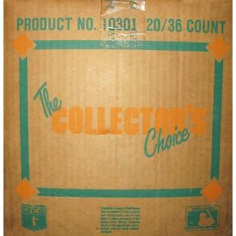 1989 Upper Deck Low # Baseball Wax 20-Box Case