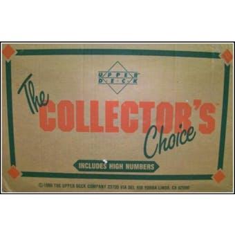 1989 Upper Deck High # Baseball Wax 20-Box Case