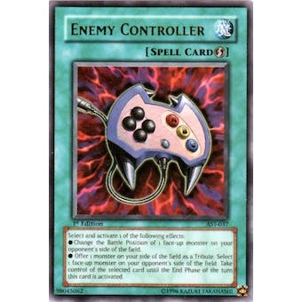 Yu-Gi-Oh Ancient Sanctuary Single 1st Ed Single Enemy Controller Ultra Rare