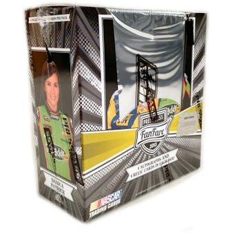 2013 Press Pass Fanfare Racing Hobby Box