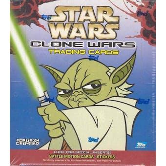 Star Wars Clone Wars 36 Pack Box (2004 Topps)