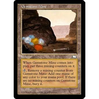 Magic the Gathering Weatherlight Single Gemstone Mine - NEAR MINT (NM)