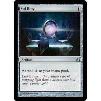 Magic the Gathering Commander Single Sol Ring - NEAR MINT (NM)