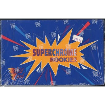 1993 Wild Card Superchrome Rookies Football Hobby Box