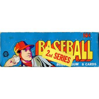 1972 O-Pee-Chee Baseball Wax Box (Series 1 or 2)