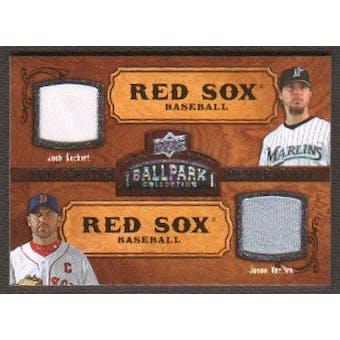 2008 Upper Deck Ballpark Collection #178 Josh Beckett Jason Varitek